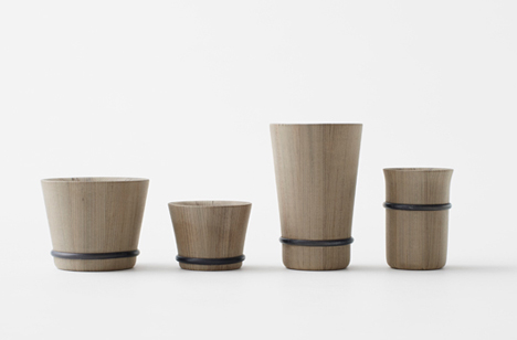 Oke collection by Nendo
