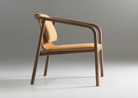Oslo chair by angell wyller aarseth for bernhardt design for Chaise oslo but