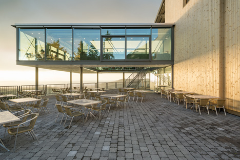 Panoramarestaurant Karren by ARSP