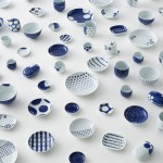 Ume-play and Karakusa-play ceramics by Nendo