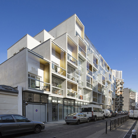 Plein Soleil housing by RH Architecture