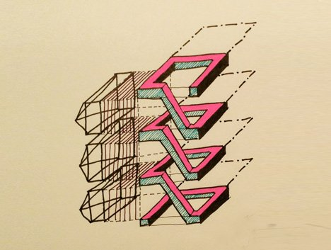 Pointless Diagrams by Josh Lewandowski