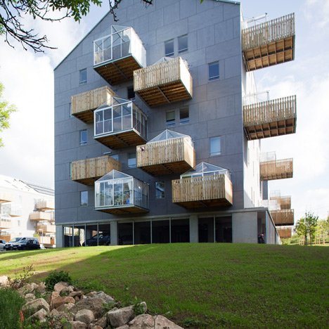 Pradenn Social Housing by Block Architects