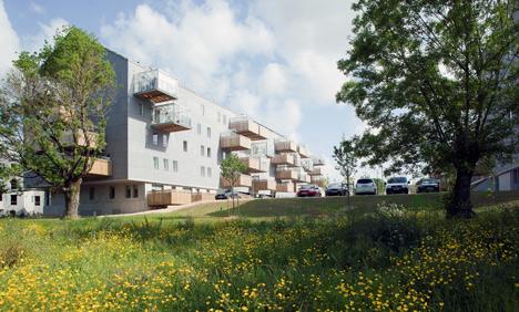 Pradenn Social Housing by Block Architects