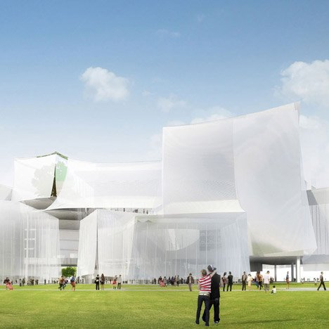 SANAA wins Taichung Cultural Centre competition