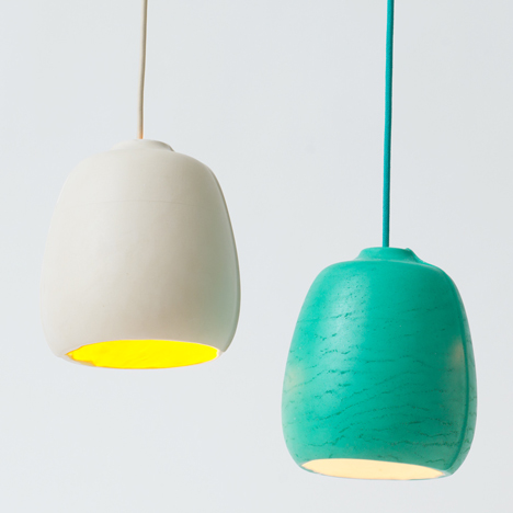 SEAM roto-moulded lighting by Annika Frye