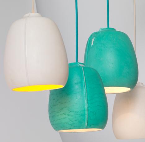 SEAM rotomolded light by Annika Frye