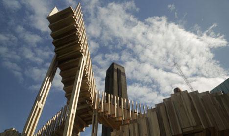 """Sculpture's gift to architecture<br /> is the staircase"" - Alex de Rijke"