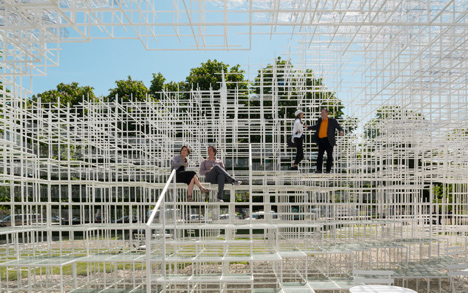Serpentine Pavilion movie