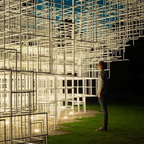 """I tried to create something melting into the green""- Sou Fujimoto"