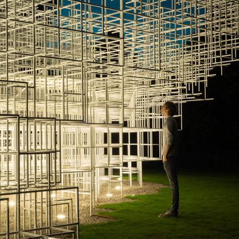 Serpentine Gallery Pavilion by Sou Fujimoto