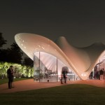 Serpentine Sackler Gallery by Zaha Hadid photographed by Luke Hayes