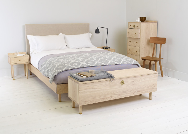 Sleep Series bedroom furniture by Another Country for Heal\'s