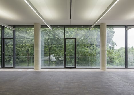 State archive of the Evangelical Lutheran Church of Bavaria by GMP Architekten
