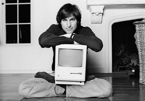 Steve Jobs by Norman Seeff