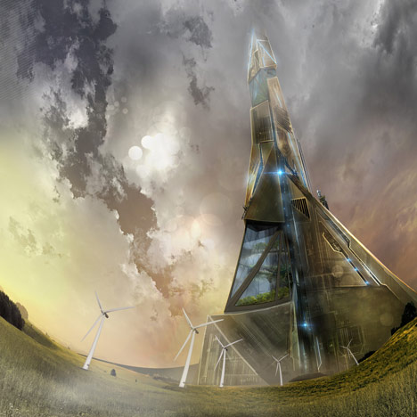Science-fiction author proposes 20-kilometre skyscraper
