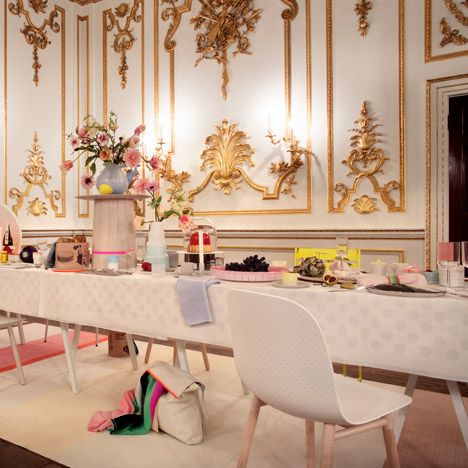 The Dinner Party/True-to-life Design<br /> by Scholten & Baijings