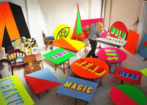 The Pavilion by Morag Myerscough and Luke Morgan