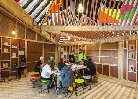 The Pavilion by Morag Myerscough and Luke Morgan