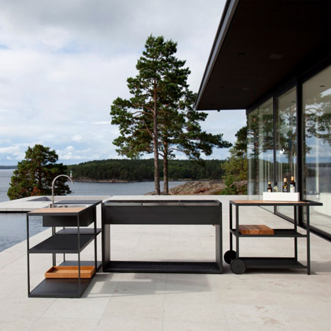 """The current trend is to have an outdoor kitchen"""