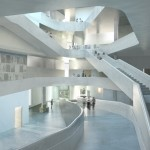 Steven Holl begins construction of second arts building at the University of Iowa