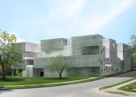 University of Iowa Visual Arts Building by Steven Holl Architects