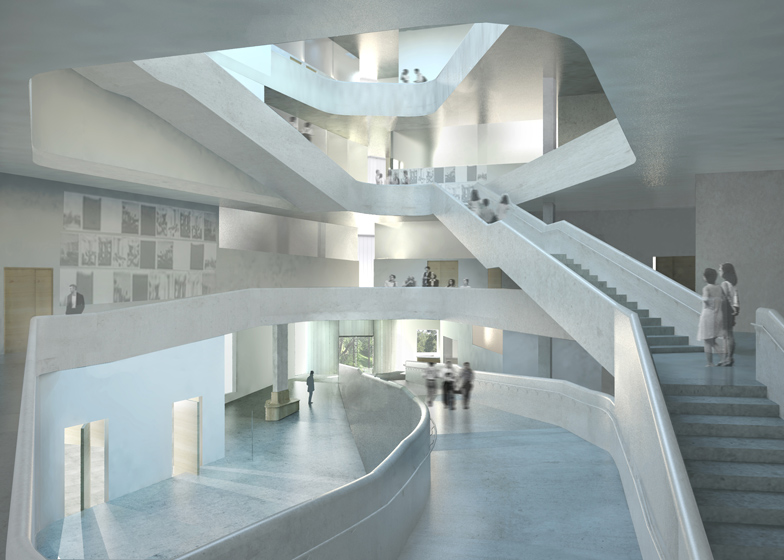 Exceptionnel 4 Of 4; University Of Iowa Visual Arts Building By Steven Holl Architects