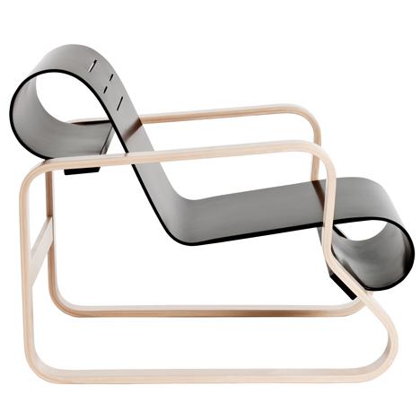 Armchair 41 by Alvar Aalto for Paimio Sanatorium