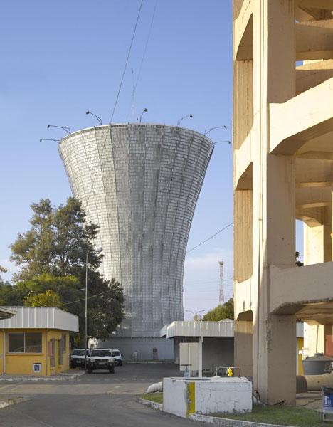 Water Tower in Rancagua by Mathias Klotz