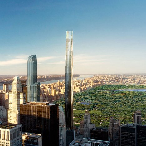 dezeen_West 57th Street tower by SHoP Architects_sq