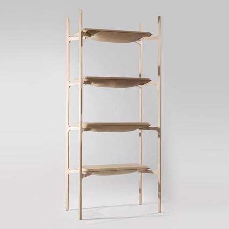 Bloated Shelves by Damien Gernay