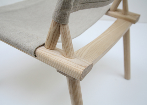 December chair by Jasper Morrison and Wataru Kumano for Nikari