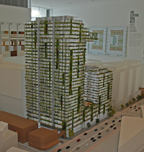 Patrick Blanc creates world's tallest vertical garden for Jean Nouvel's Sydney tower