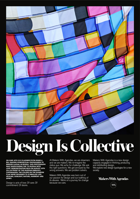 Design Is Collective by Makers with Agendas