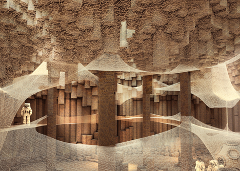 Mars Colonisation by ZA Architects