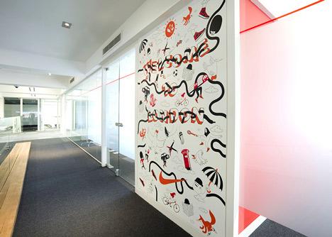 Nike London HQ redesign by Rosie Lee