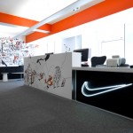 Nike UK Headquarters redesign by Rosie Lee