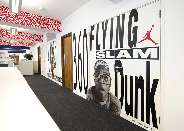 Nike London HQ redesign by Rosie Lee