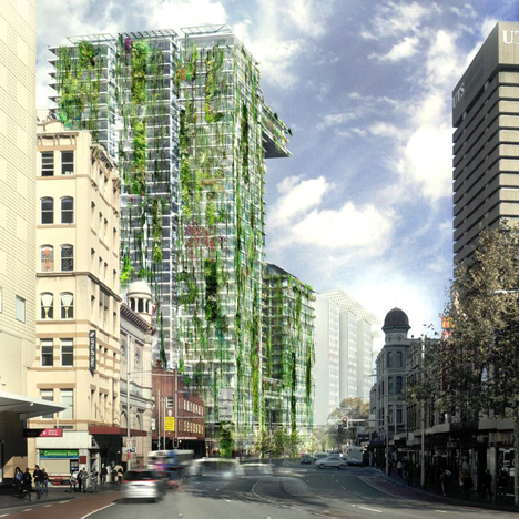 World's tallest living wall by Patrick Blanc at One Central Park