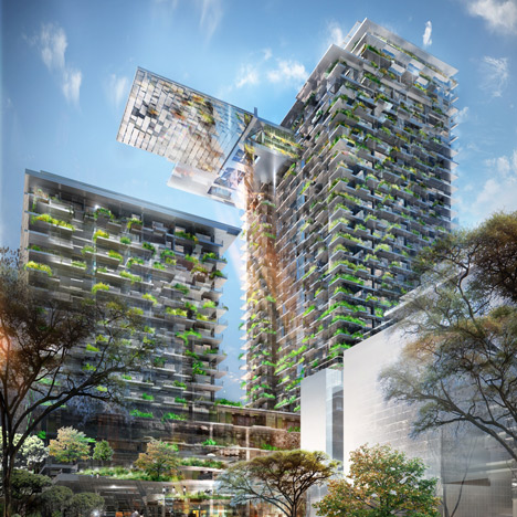 Patrick Blanc creates world's tallest vertical garden for Jean Nouvel's Sydney tower