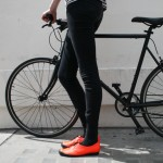 Cycling shoes by Tracey Neuls for Tokyobike