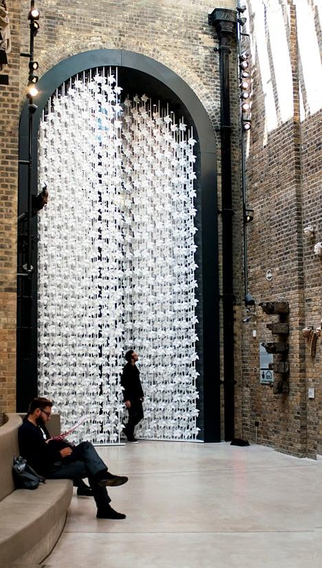 Wind Portal by Najla El Zein Studio at the V&A