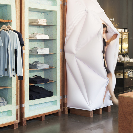 World Basics pop-up store by Schemata Architects