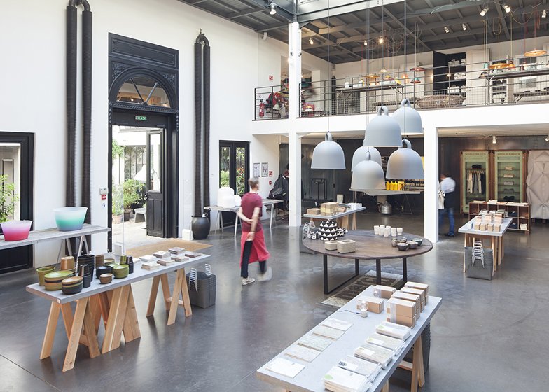 world basics popup store by schemata architects