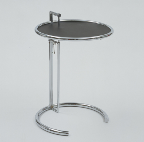 Designing Modern Women 1890–1990 at MoMA Adjustable table by Eileen Gray, 1927_Designing Modern Women at MoMA_dezeen_22