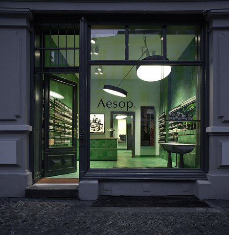 Aesop store by Weiss-heiten