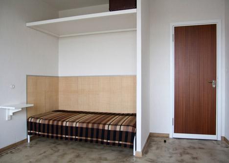 Marianne Brandt room at Studio Building, Bauhaus Dessau