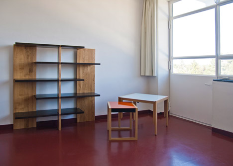 Personalised studio of Josef Albers, Bauhaus Dessau
