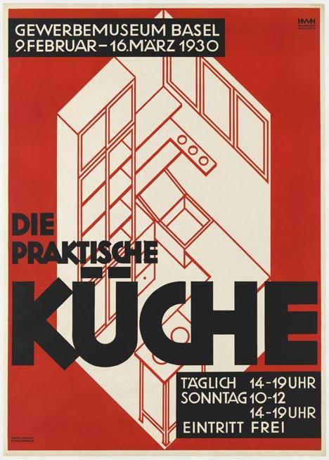 Designing Modern Women 1890–1990 at MoMA Die Praktische Küche (The practical kitchen) by Helene Haasbauer-Wallrath, 1930_Designing Modern Women at MoMA_dezeen_15