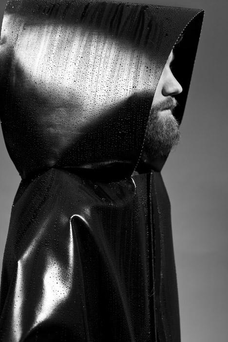 Dystopian Brutalist Outerwear by Martijn Van Strien